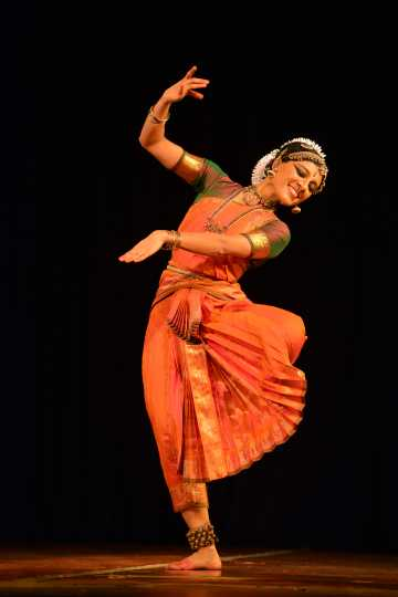 Aparna Ramaswamy performing in Body, the Shrine, in