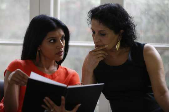 Aparna and Ranee Ramaswamy