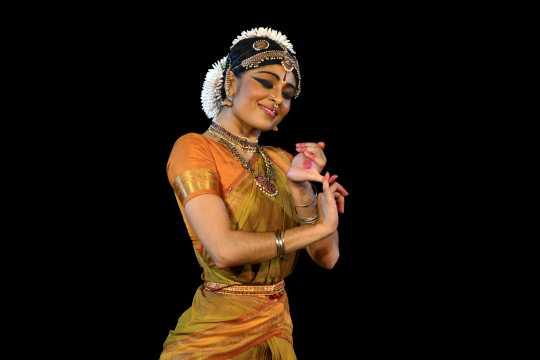 Ashwini Ramaswamy performing in Sacred Earth