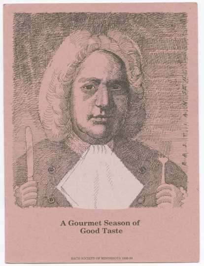 scan of 1988 Bach Society Program cover