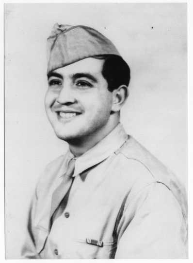 Hyman Berman in his US Army uniform