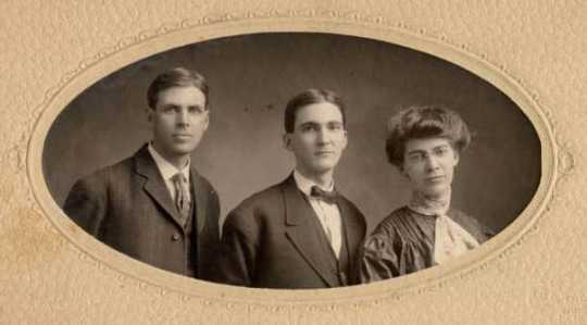 Children of John A. and Edith Brown
