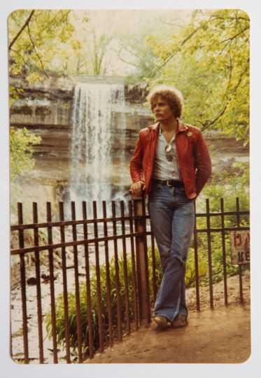 Bruce Brockway at Minnehaha Falls
