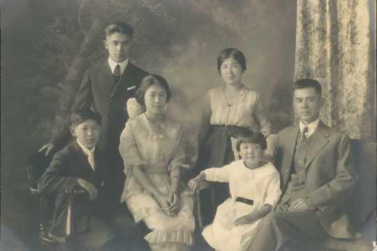 Ruth Nomura and family