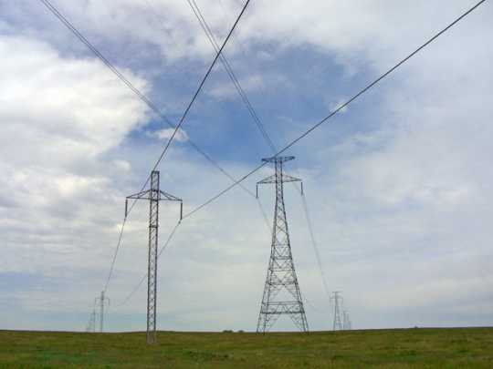 Photograph of CU Powerline(right)