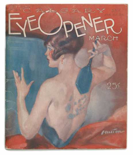 Front cover of the March, 1926 issue of the Calgary Eye Opener