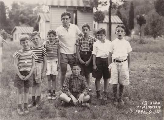 Hyman Berman at age seventeen