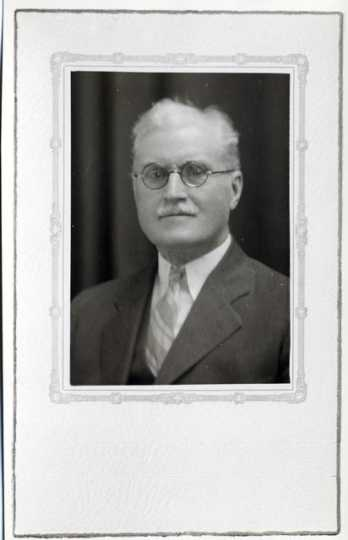 Portrait of Charles Fremont Dight, president and founder of the Minnesota Eugenics Society, undated.