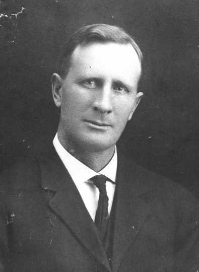 Black and white photograph of Charles Klein.
