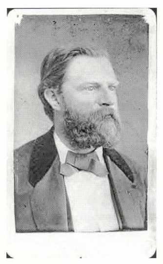 Black and white photograph of Carl Bachmann, c.1880s.