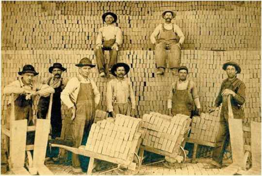 Klein Brickyard workers c.1910