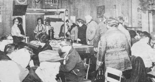 Clara Barton Club ice cream social