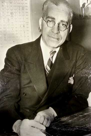Black and white photograph of Clarence Wigington, c.1940s.