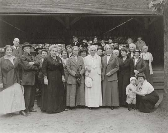 Photograph of Political Equality Club members, ca. 1915