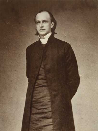 Black and white photograph of Bishop Henry B. Whipple, c.1860.