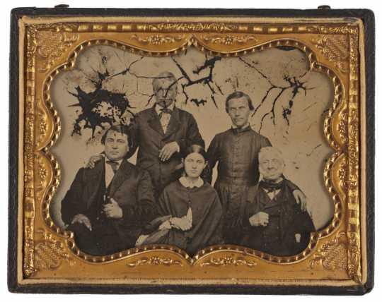 Family members of Jean-Baptiste and Pelagie Faribault