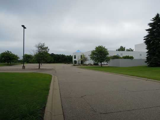 View of front of Paisley Park Studios