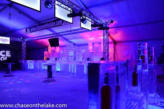 The Chase on the Lake Ice Bar at the International Eelpout Festival, 2017. Photo by Josh Stokes.