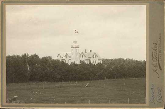 Photograph of first Danebod Folk School