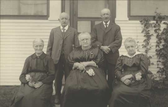 Photograph of the DeGonda Family