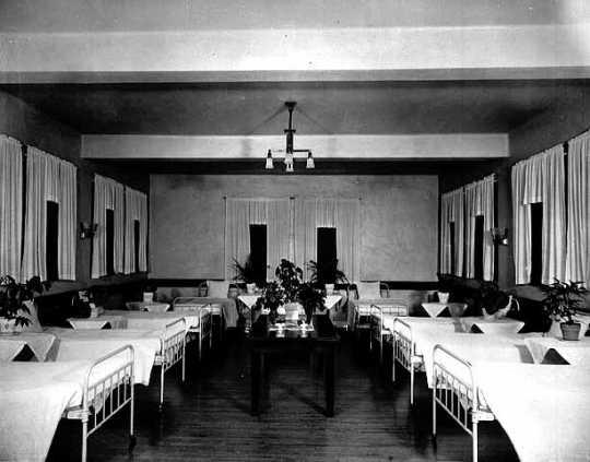 Interior, Detention Hospital Ward, Fergus Falls State Hospital, Fergus Falls.