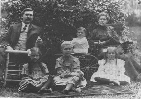 Dr. Henry Fischer and Family