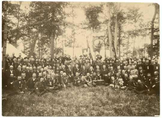 Reunion of the First Minnesota Volunteer Infantry Regiment