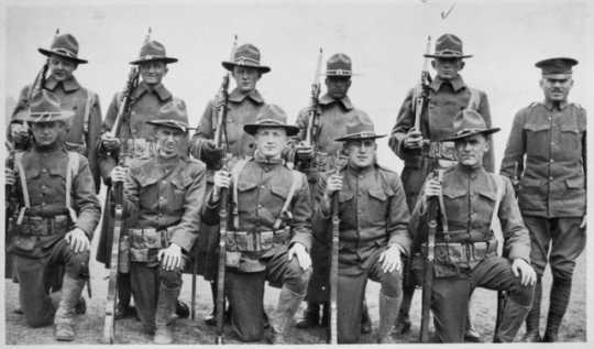 World War I soldiers from Windom (Cottonwood County)