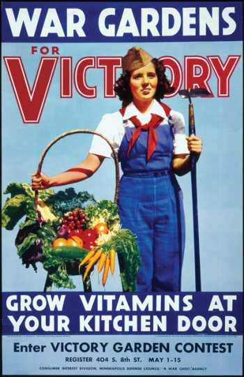 Victory-garden poster