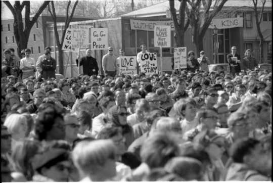 Dr. Martin Luther King Jr. in St. Paul