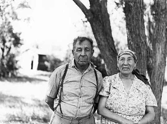 Solomon Wells and Mary Wells, Prairie Island.