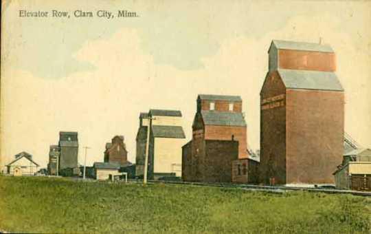 Elevator row, Clara City