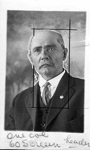 Photograph of John B. Bosch