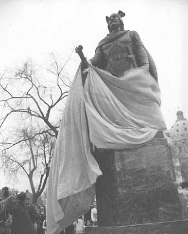 Leif Ericson memorial unveiling