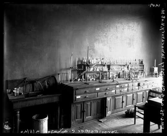 Chemistry laboratory at the University of Minnesota