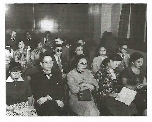 FMA members attending a workshop at the University of Minnesota, 1957.