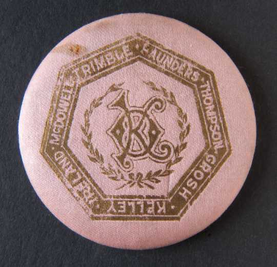 National Grange founders button