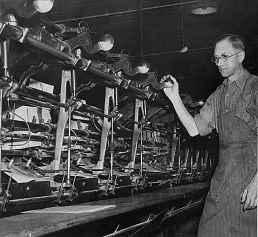 Webb Publishing Company, special equipment that assembles and binds telephone directories.
