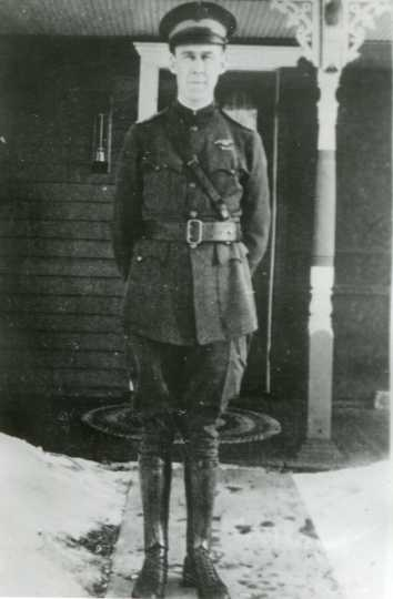 First Lieutenant Martinus Stenseth, post-World War I. Used with the permission of the Stenseth family.