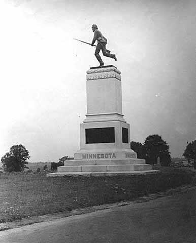 First Minnesota monument at Gettysburg