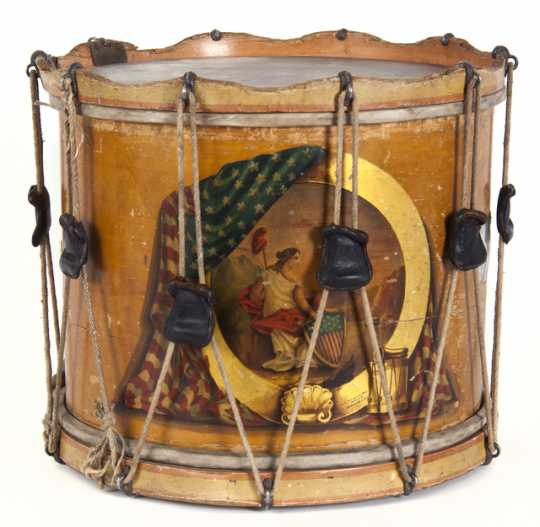 First Minnesota Regiment Civil War snare drum