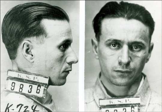 Fred Barker, 1930 mugshot