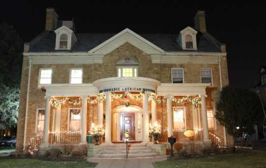 German-American Institute at Christmas time
