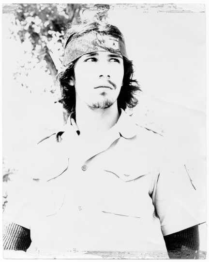 Tom Aquilar, a member of the Brown Berets, ca. 1972.