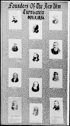 Founders of the New Ulm Turnverein, November 11, 1956.