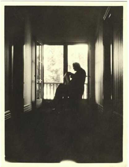 Photograph of William Gates LeDuc at home