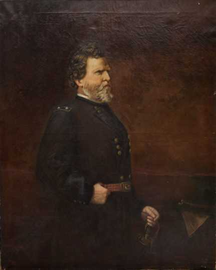 Civil War General George H. Thomas, by Samuel Woodson Price, 1880