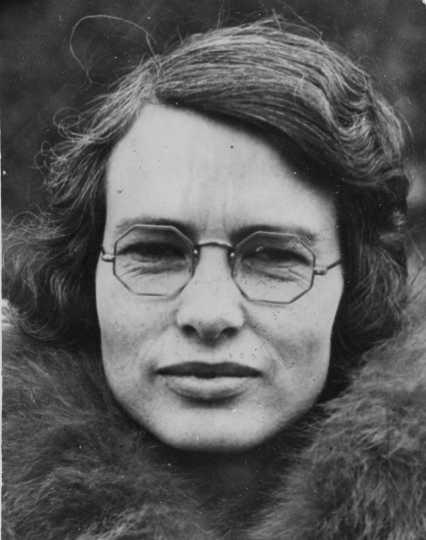 Photograph of Genevieve Clark, ca. 1931