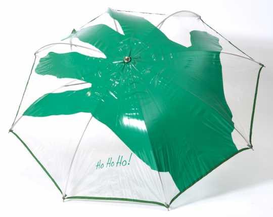 Green Giant promotional umbrella
