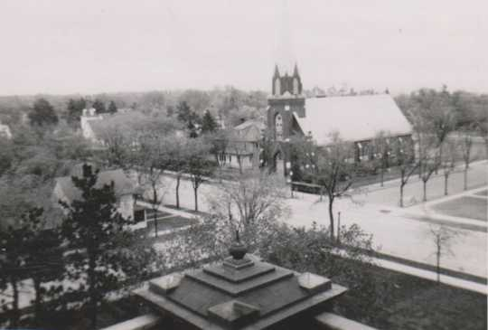 View from the Beltrami County Courthouse's cupola
